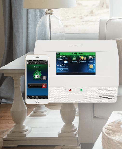 t l surveillance centrale d 39 alarme compatible adt protectron. Black Bedroom Furniture Sets. Home Design Ideas