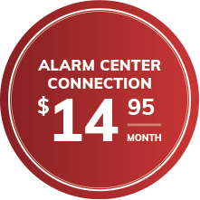 Alarm center connection $14.95/month
